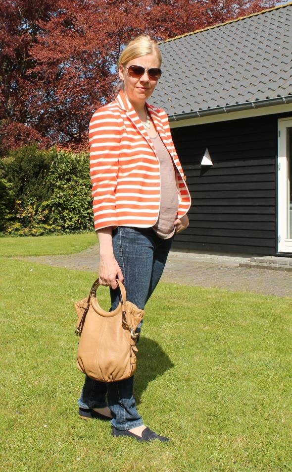 Blazer fra Ann Taylor , jeans fra Calvin Klein_4