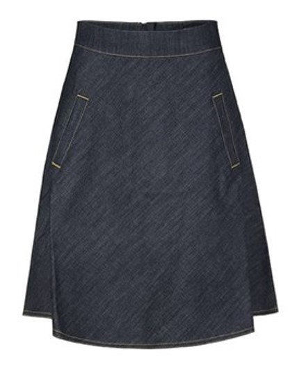 Mads Nørgaard denim nederdel